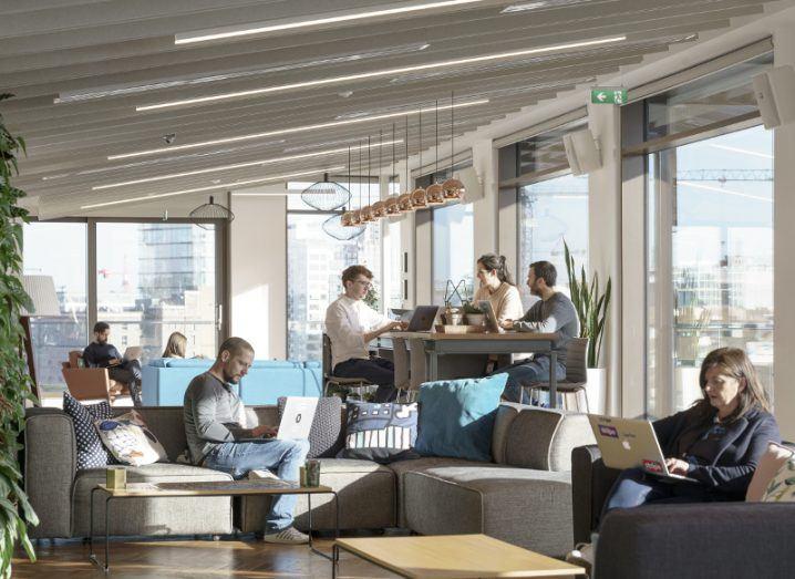 Stripe} Office Photo