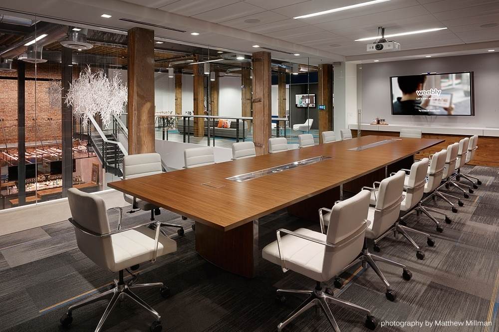 Weebly} Office Photo